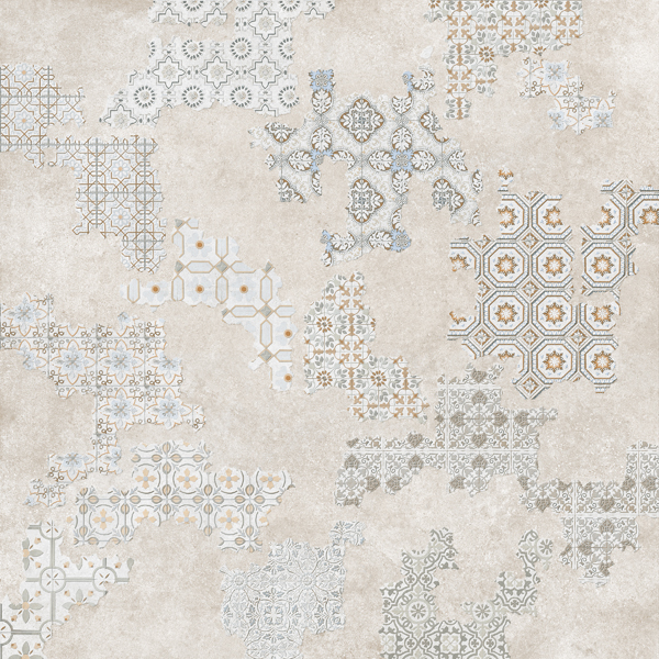Cover geotiles - Deco toiletten taupe ...