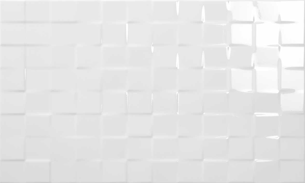 Sky cubic geotiles - Azulejos blanco brillo ...