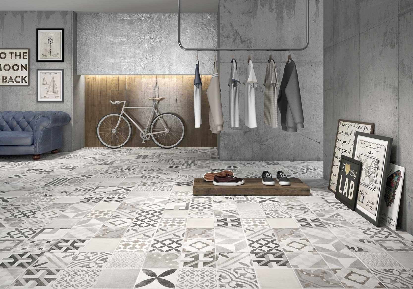 vintage geotiles. Black Bedroom Furniture Sets. Home Design Ideas